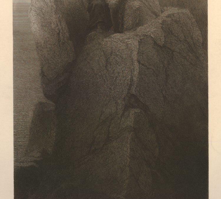 Napoléon à Sainte-Hélène par Delaroche, 1860