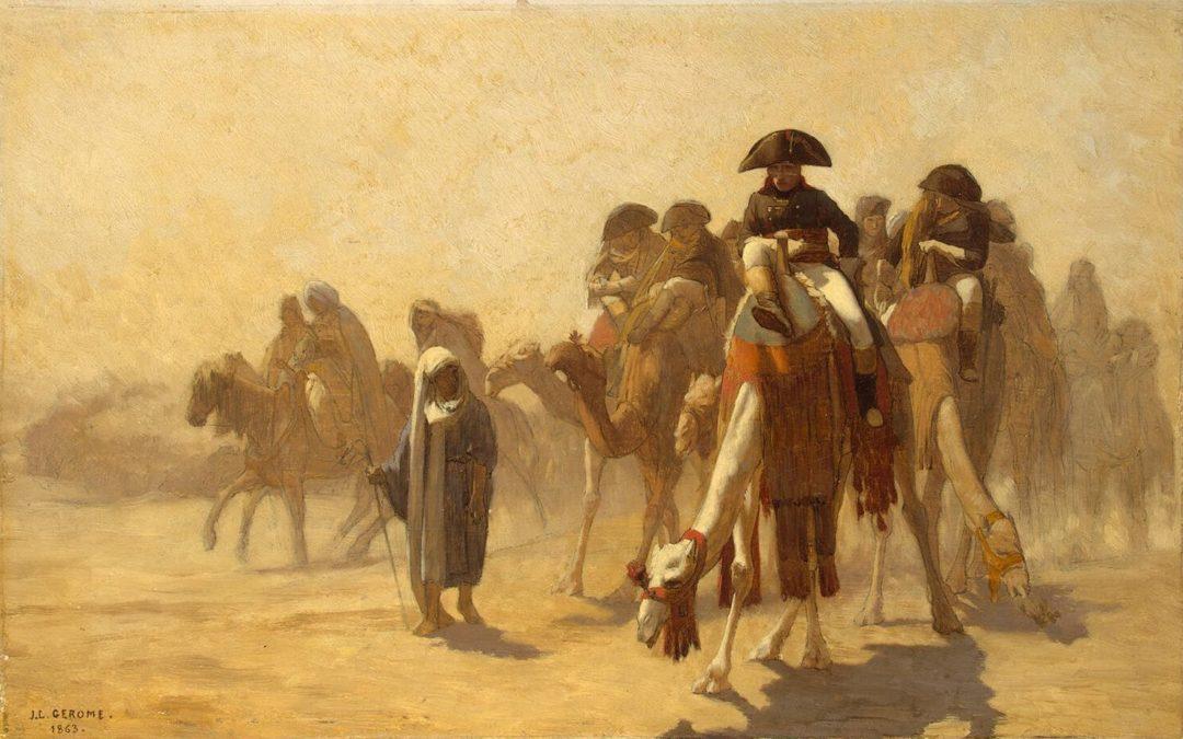 Napoléon en Egypte, Jean-Léon Gérôme (1867).© Musée de l'Hermitage, Saint-Pétersbourg