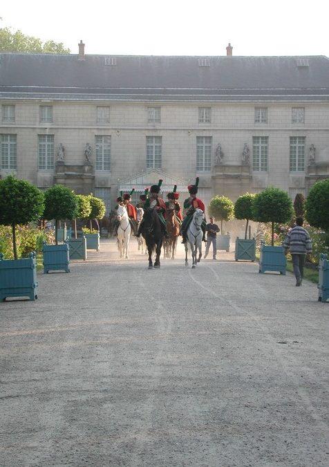 Photographie prise au Château de Malmaison en 2001