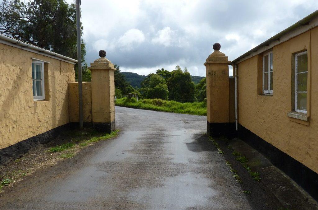 oste de garde à Longwood ou Longwood Gate